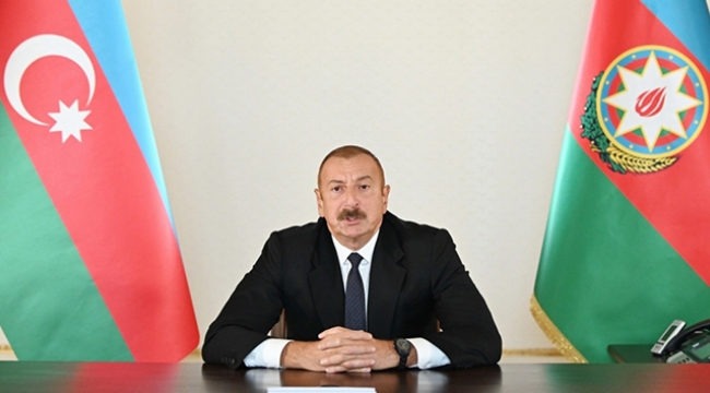 Azerbaycan Cumhurbaşkanı İlham Aliyev ulusa seslendi