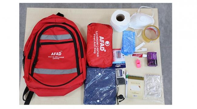 İşte bir deprem çantasının maliyeti