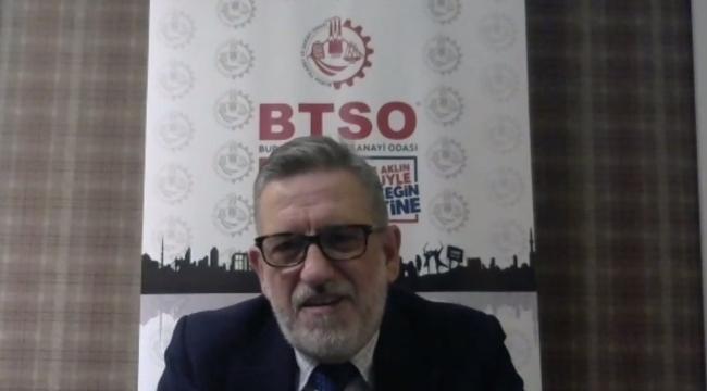 BTSO'da yılın son meclis toplantısı