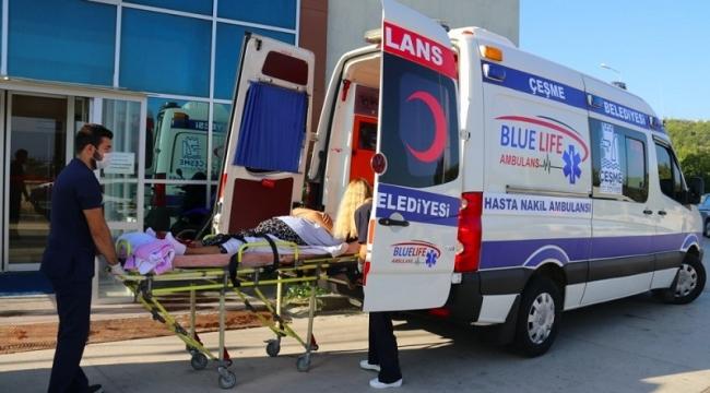 """Çeşme'de 'Evde Sağlık Hizmetleri""""ne yoğun ilgi"""