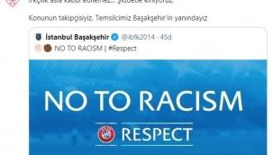 TFF: 'Konunun takipçisiyiz, Başakşehir'in yanındayız'