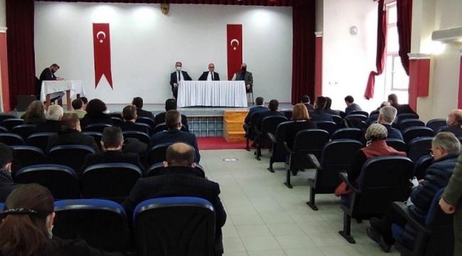 Eğitim öğretim yılı sene sonu değerlendirme toplantısı