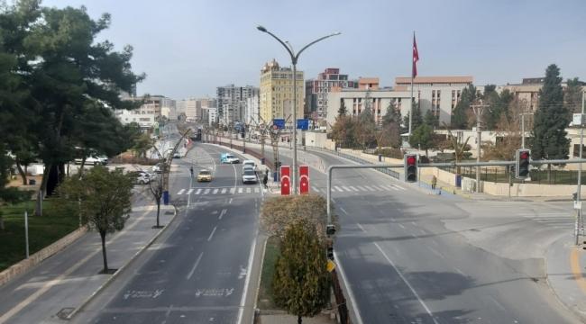 Mardin'de kısıtlamanın son gününde de sessizlik hakim