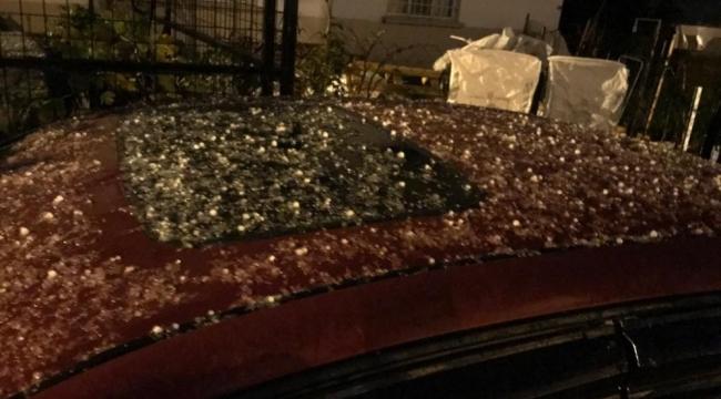 Marmaris'te yıllar sonra kar tanecikleri düştü
