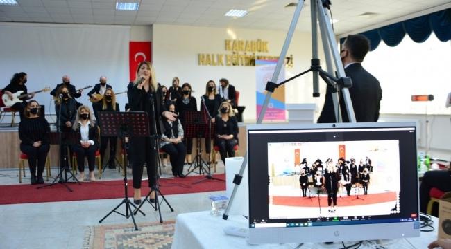 """""""Karabük Öğretmenleri Öğrenciler İçin Söylüyor"""" konseri çevrimiçi gerçekleştirildi"""