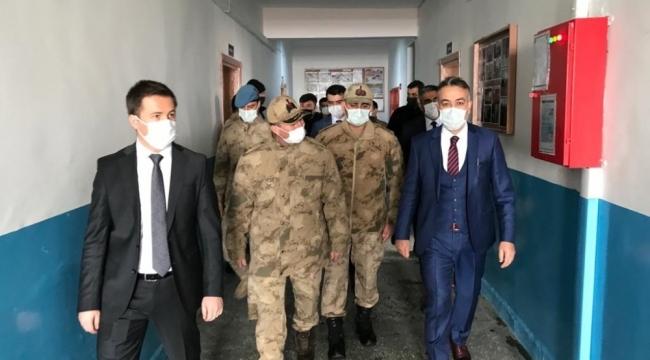 Vali Çağatay'dan ceza evine ziyaret