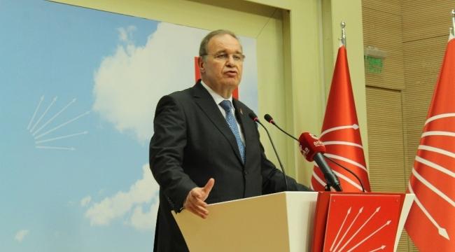 CHP Parti Sözcüsü Faik Öztrak: