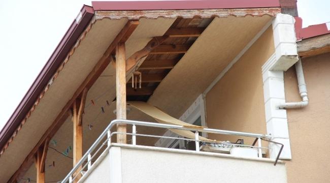 Tavanı tamir etmek isterken balkondan düştü