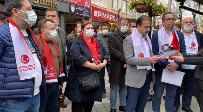 Yalova CHP'de 350 istifa