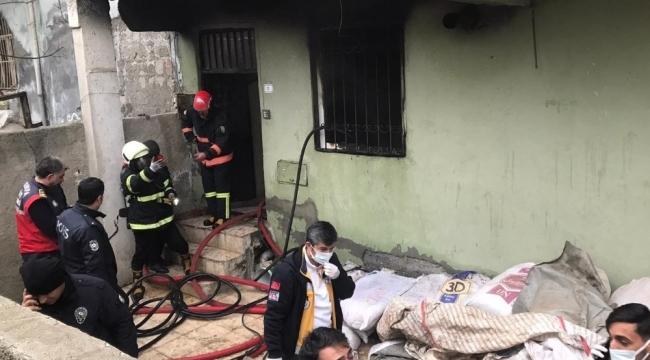 Yangından kurtarılan çocuk hastanede öldü