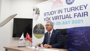 """Ege Üniversitesi, """"Study in Turkey 2021 YÖK Sanal Fuarı""""nda"""