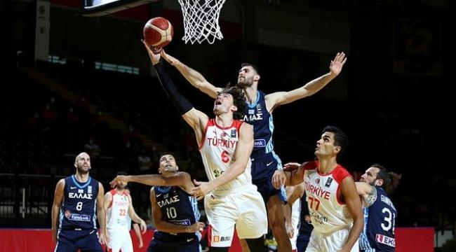 Milli Takım Yarı Final Skoru Türkiye 63-81 Yunanistan