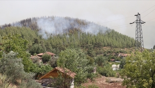 Bir yangın haberi de Isparta'dan!