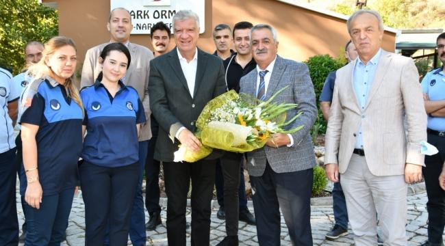 Başkan Ali Engin Zabıta Haftası'nı personeliyle kutladı