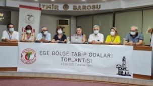 TTB ve Ege Bölgesi Tabip Odaları: Vakalar Artarak Salgın Yayılıyor