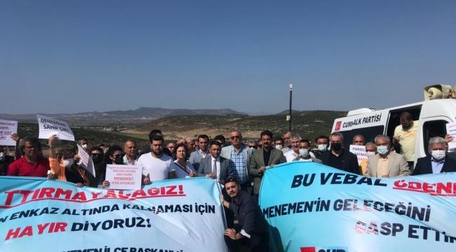 CHP'li Sertel ; Menemen'deki arazi satışını meclis gündemine taşıdı